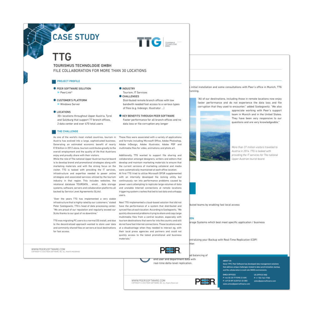 Preview Case Study TTG