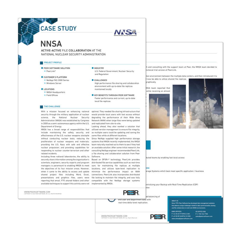 Preview Case Study NNSA