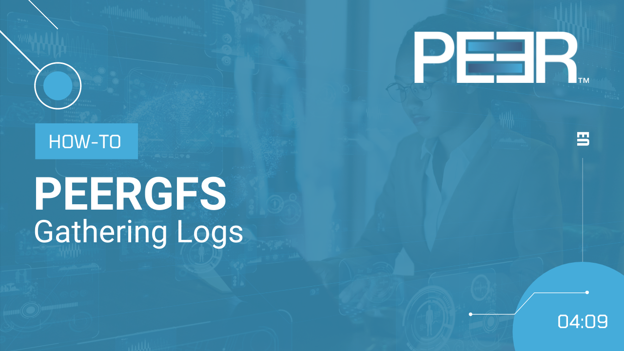 Preview Video PeerLink Gathering Logs