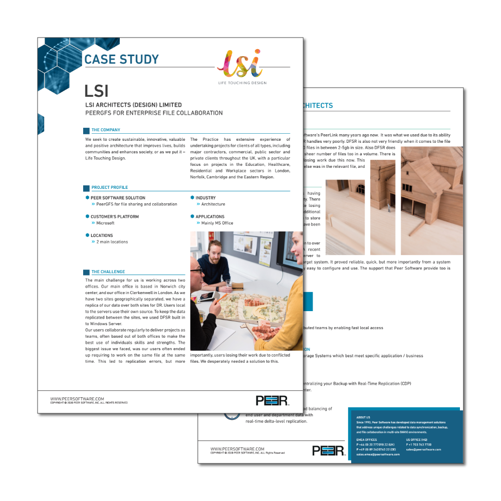 Preview Case Study LSI Architects