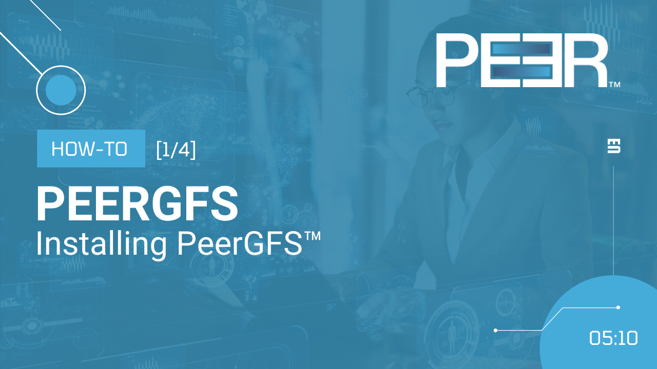 Video Cover Installing PeerGFS