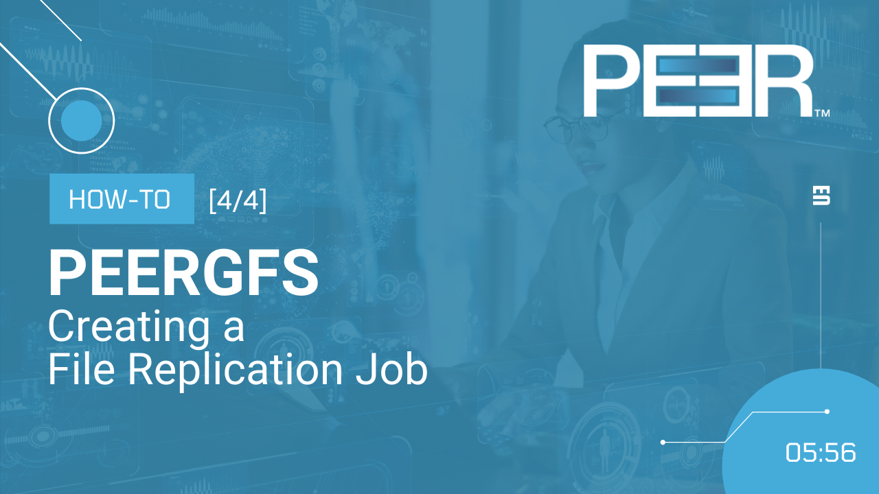 Video Cover PeerGFS How-To Replication Job