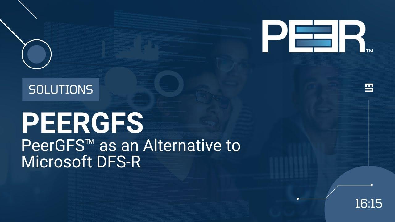 Video Cover DFS-R Alternative